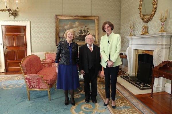 Anabio's innovation celebrated by President Michael D. Higgins