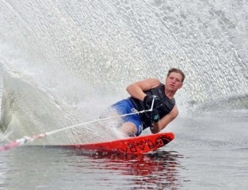 Daniel Galvin skis 2 PBs in European U21 Waterski Championships