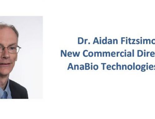 Dr. Aidan Fitzsimons  New Commercial Director of AnaBio Technologies LTD