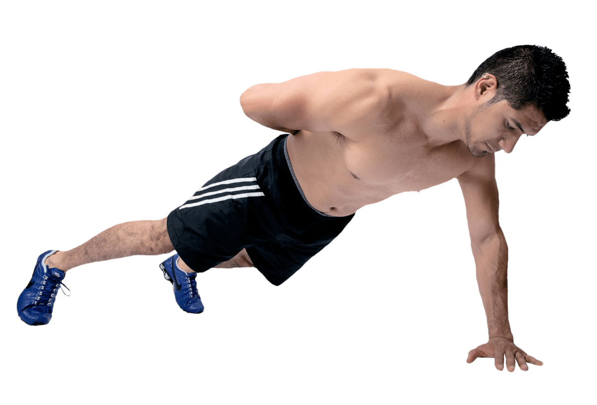 curcumin push up guy